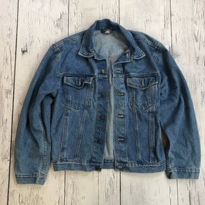 Vintage Faded glory denim jacket small